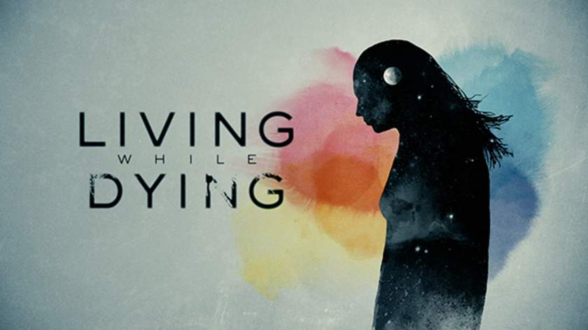 Living While Dying Title Screen