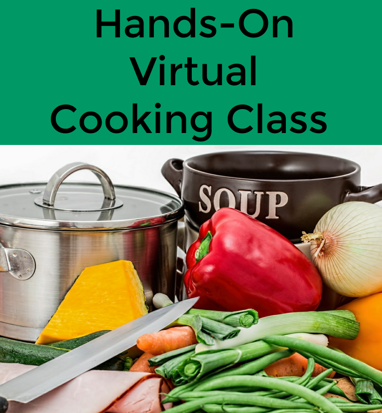 Hands On Virtual Cooking Class