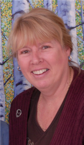 Canadian Author Vicki Delaney